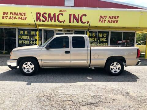 2006 Chevrolet Silverado 1500 for sale at Ron Self Motor Company in Fort Worth TX