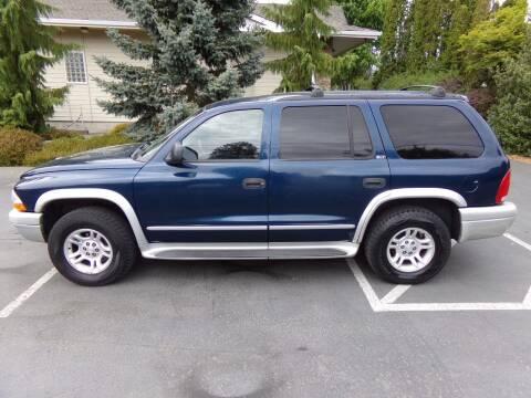2002 Dodge Durango for sale at Signature Auto Sales in Bremerton WA