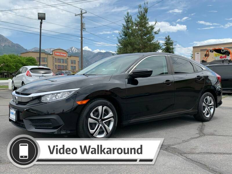 2017 Honda Civic for sale at Ultimate Auto Sales Of Orem in Orem UT