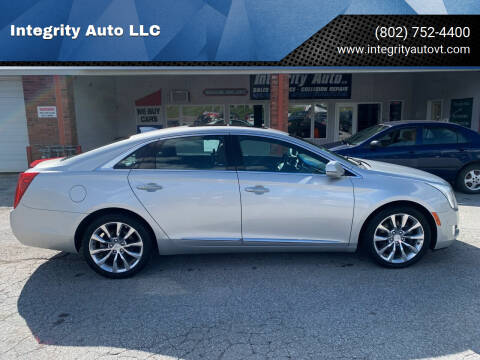 2016 Cadillac XTS for sale at Integrity Auto LLC in Sheldon VT
