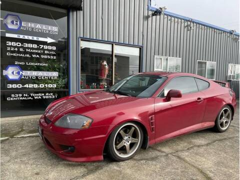 2006 Hyundai Tiburon for sale at Chehalis Auto Center in Chehalis WA