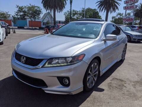 2014 Honda Accord for sale at Convoy Motors LLC in National City CA