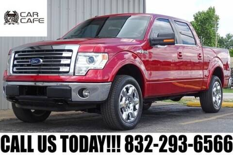 2013 Ford F-150 for sale at CAR CAFE LLC in Houston TX