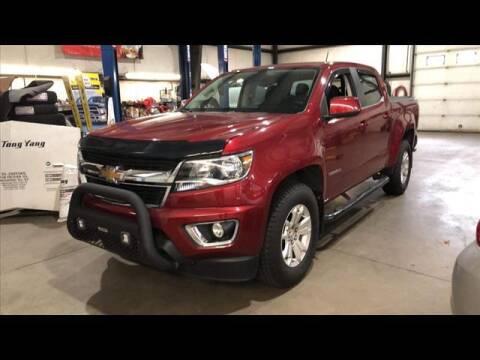 2018 Chevrolet Colorado for sale at North Berwick Auto Center in Berwick ME