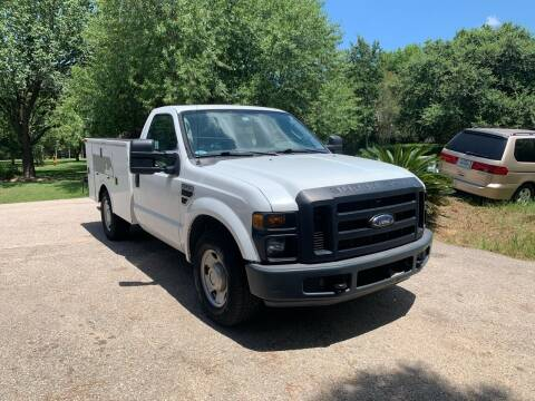 2008 Ford F-250 Super Duty for sale at CARWIN MOTORS in Katy TX
