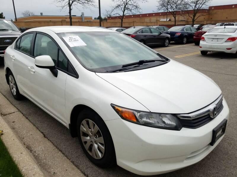 2012 Honda Civic for sale at 355 North Auto in Lombard IL