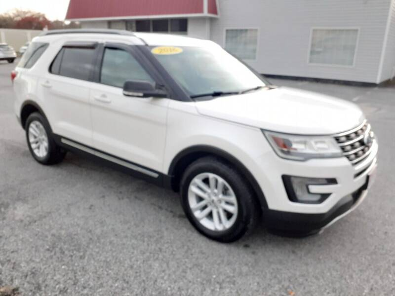 2016 Ford Explorer for sale at USA 1 Autos in Smithfield VA