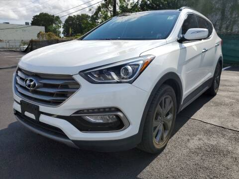 2017 Hyundai Santa Fe Sport for sale at Eden Cars Inc in Hollywood FL