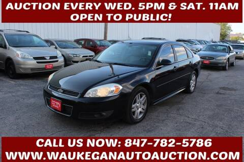 2010 Chevrolet Impala for sale at Waukegan Auto Auction in Waukegan IL
