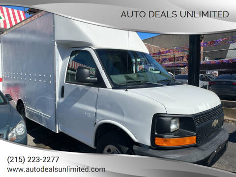 2004 Chevrolet Express Cutaway for sale at AUTO DEALS UNLIMITED in Philadelphia PA