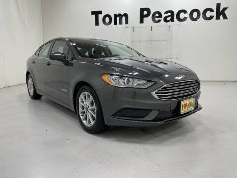 2017 Ford Fusion Hybrid for sale at Tom Peacock Nissan (i45used.com) in Houston TX