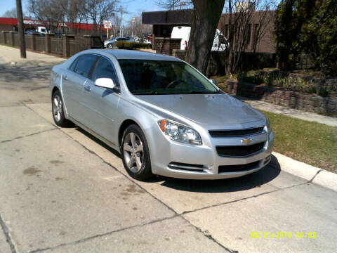 2012 Chevrolet Malibu for sale at Fred Elias Auto Sales in Center Line MI