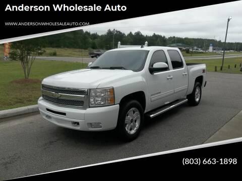 2010 Chevrolet Silverado 1500 for sale at Anderson Wholesale Auto in Warrenville SC