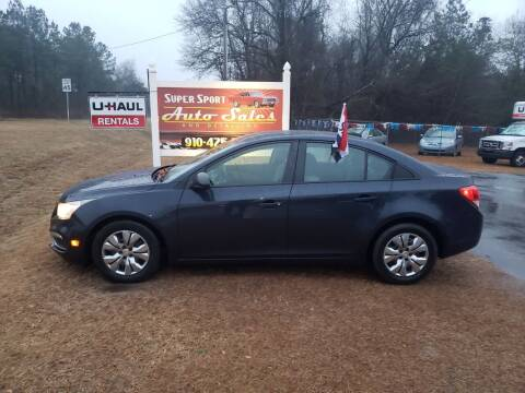 2015 Chevrolet Cruze for sale at Super Sport Auto Sales in Hope Mills NC