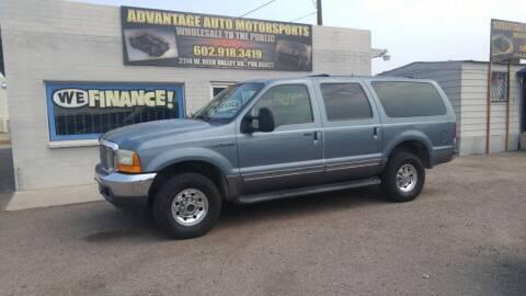 2001 Ford Excursion for sale at Advantage Motorsports Plus in Phoenix AZ