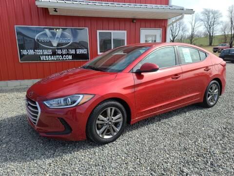 2017 Hyundai Elantra for sale at Vess Auto in Danville OH