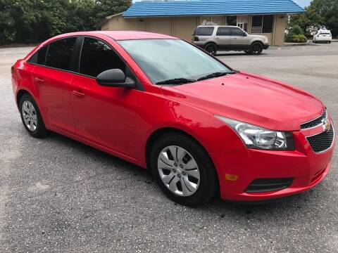 2014 Chevrolet Cruze for sale at Cherry Motors in Greenville SC