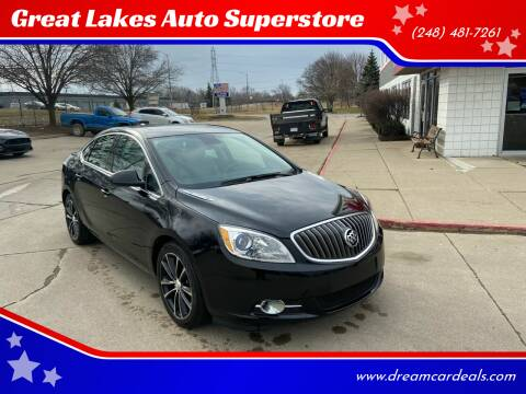 2016 Buick Verano for sale at Great Lakes Auto Superstore in Pontiac MI
