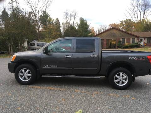 2010 Nissan Titan for sale at Lou Rivers Used Cars in Palmer MA