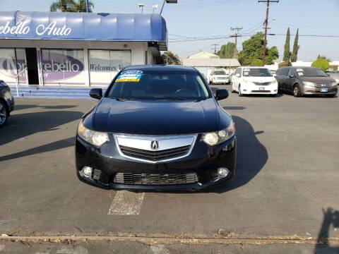 2013 Acura TSX for sale at Montebello Auto Sales in Montebello CA