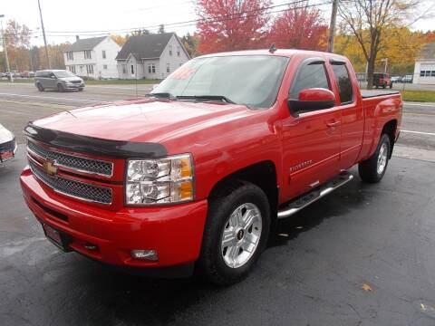 2012 Chevrolet Silverado 1500 for sale at Dansville Radiator in Dansville NY