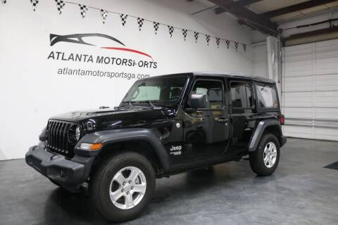 2018 Jeep Wrangler Unlimited for sale at Atlanta Motorsports in Roswell GA