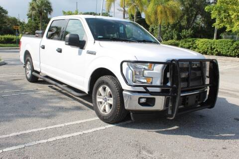 2017 Ford F-150 for sale at Truck and Van Outlet - All Inventory in Hollywood FL