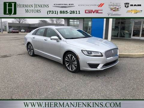 2019 Lincoln MKZ Hybrid for sale at Herman Jenkins Used Cars in Union City TN