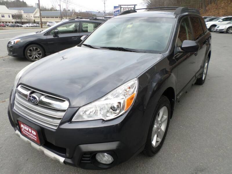 2013 Subaru Outback for sale at AUTO CONNECTION LLC in Springfield VT