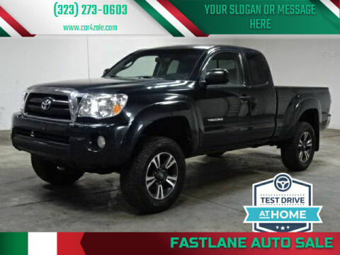 2007 Toyota Tacoma for sale at Fastlane Auto Sale in Los Angeles CA