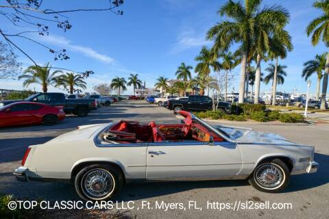 1985 Cadillac Eldorado for sale at Top Classic Cars LLC in Fort Myers FL