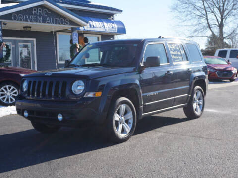2017 Jeep Patriot for sale at Rynbergs Car Co in Muskegon MI