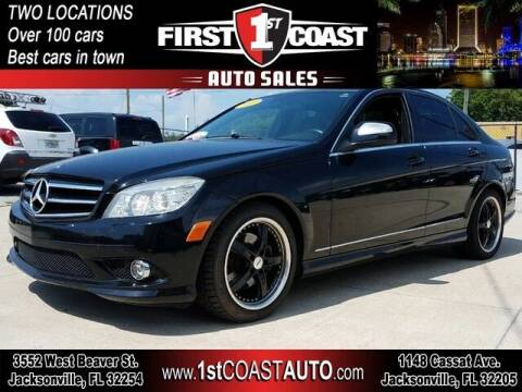 2009 Mercedes-Benz C-Class for sale at 1st Coast Auto -Cassat Avenue in Jacksonville FL