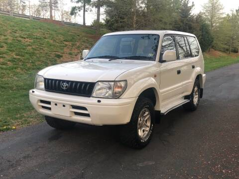 1995 Toyota Land Cruiser for sale at Economy Auto Sales in Dumfries VA