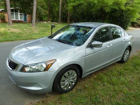 2009 Honda Accord for sale at Templar Auto Group in Matthews NC