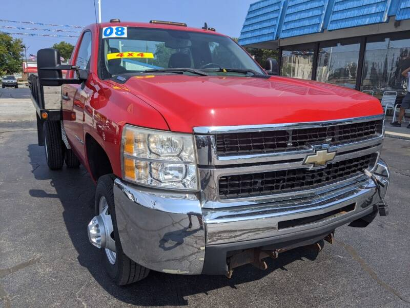 2008 Chevrolet Silverado 3500HD CC for sale at GREAT DEALS ON WHEELS in Michigan City IN