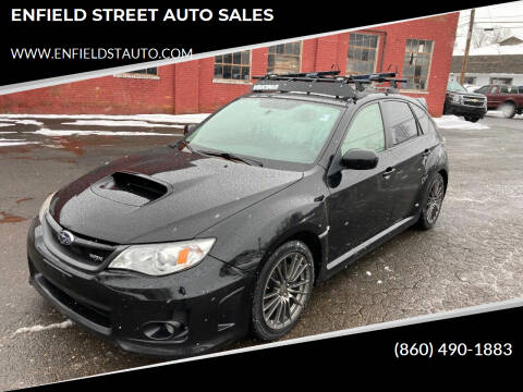 2012 Subaru Impreza for sale at ENFIELD STREET AUTO SALES in Enfield CT