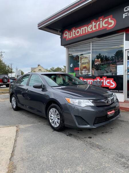 2013 Toyota Camry for sale at AUTOMETRICS in Brunswick ME