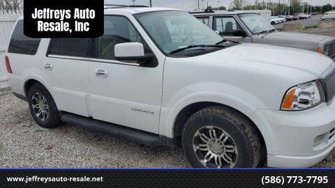 2006 Lincoln Navigator for sale at Jeffreys Auto Resale, Inc in Clinton Township MI