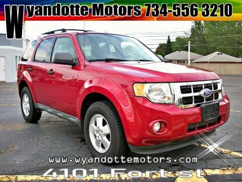 2011 Ford Escape for sale at Wyandotte Motors in Wyandotte MI