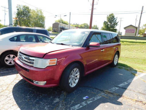 2009 Ford Flex for sale at WOOD MOTOR COMPANY in Madison TN