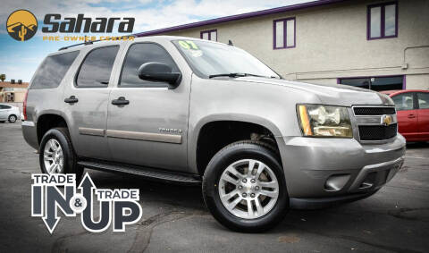 2007 Chevrolet Tahoe for sale at Sahara Pre-Owned Center in Phoenix AZ