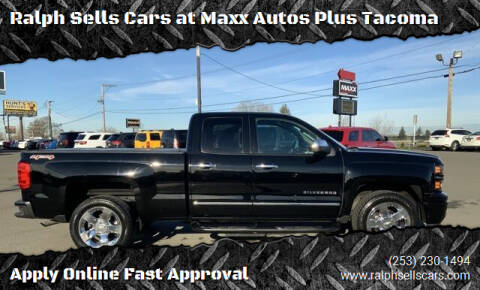 2015 Chevrolet Silverado 1500 for sale at Ralph Sells Cars at Maxx Autos Plus Tacoma in Tacoma WA