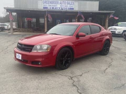 2014 Dodge Avenger for sale at Greenbrier Auto Sales in Greenbrier AR