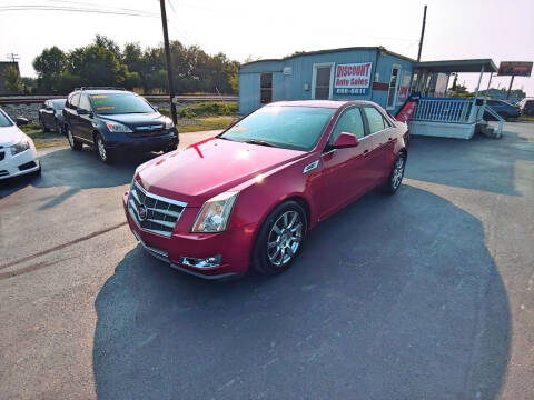 2009 Cadillac CTS for sale at DISCOUNT AUTO SALES in Murfreesboro TN
