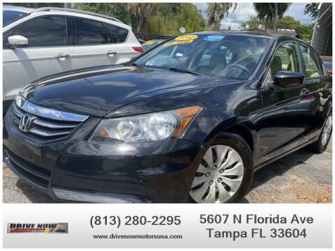 2012 Honda Accord for sale at Drive Now Motors USA in Tampa FL