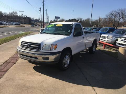 2000 Toyota Tundra for sale at Used Car City in Tulsa OK