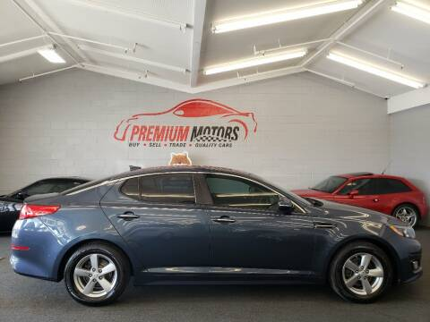 2015 Kia Optima for sale at Premium Motors in Villa Park IL
