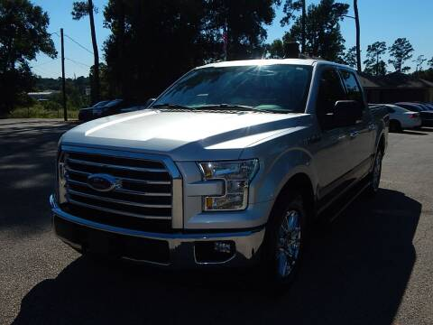 2017 Ford F-150 for sale at Medford Motors Inc. in Magnolia TX