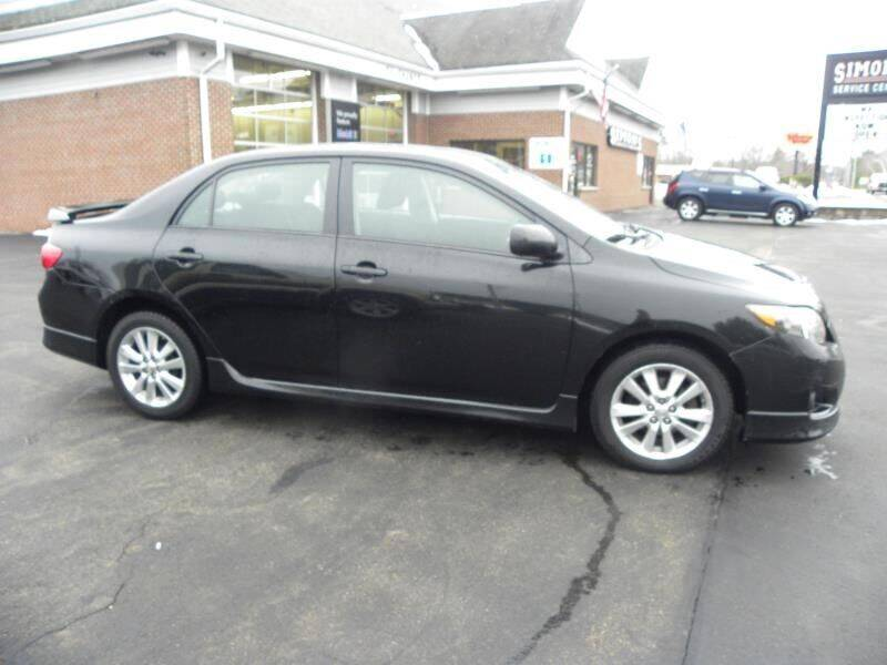 2010 Toyota Corolla for sale at Mike's Motor Group in Tyngsboro MA